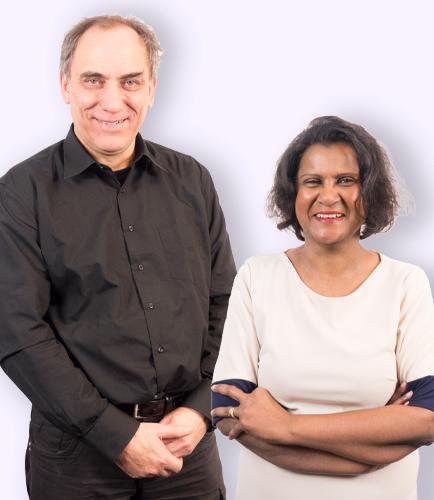 Jeroen en Rahana van Doesburg